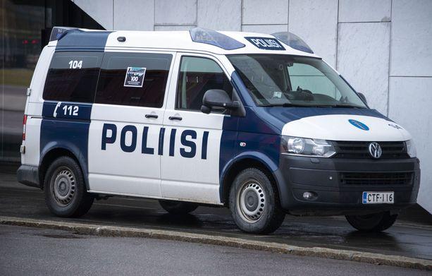 Poliisilla oli käynnissä iso etsintäoperaatio Forssan keskustassa. Arkistokuva.