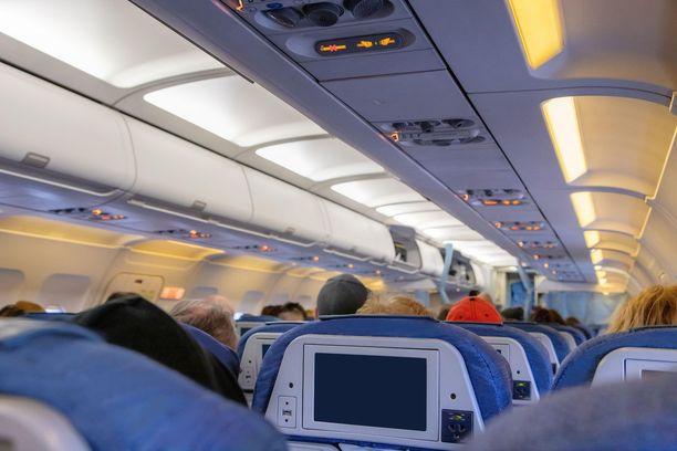 Lentokoneen ilmastointi toimii tehokkaimmin lentokorkeudessa.