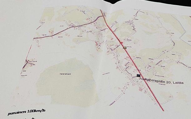 ELY-keskuksen karttojen (ja liikennemerkeistä vastaavan urakoitsijan) mukaan kyseisellä tiellä oli 100 km/h nopeusrajoitus - ei 80 km/h.