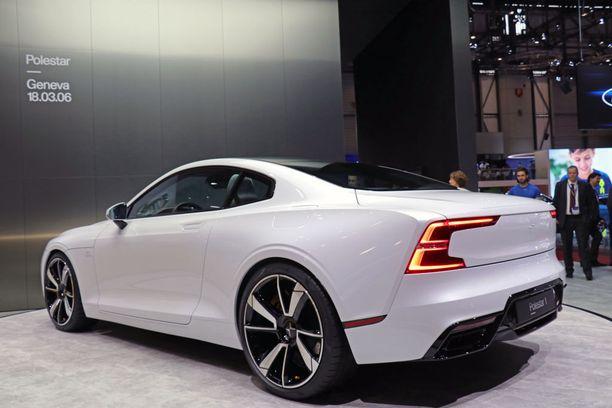 Design on uusien Volvojen tyylistä.