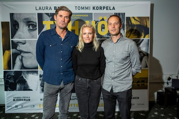 Tommi Korpela ja Laura Birn työstivät Tyhjiötä ohjaaja Aleksi Salmenperän kanssa neljän vuoden ajan.