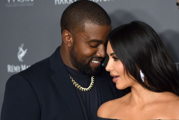 Kanye Westillä ja Kim Kardashianilla on neljä yhteistä lasta.