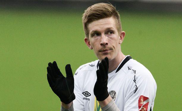 Kalle Multanen onnistui HJK:ta vastaan.