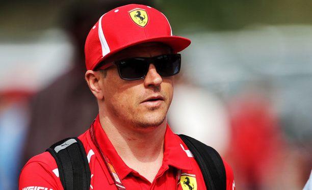 Kimi Räikkönen on Sveitsin puolella huomisessa finaalissa.