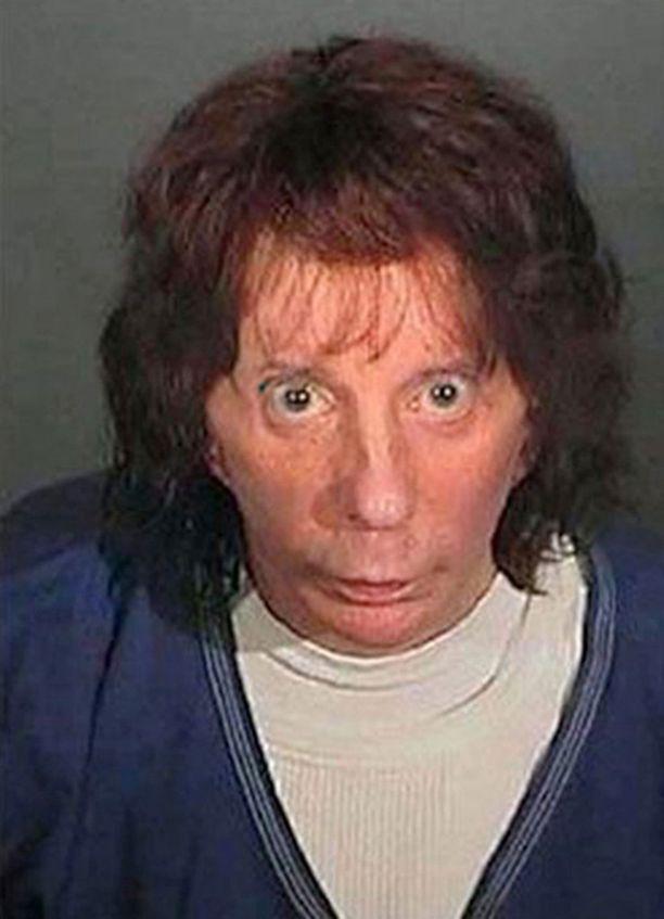 Phil Spector vankilaviranomaisten kuvassa vuonna 2009.