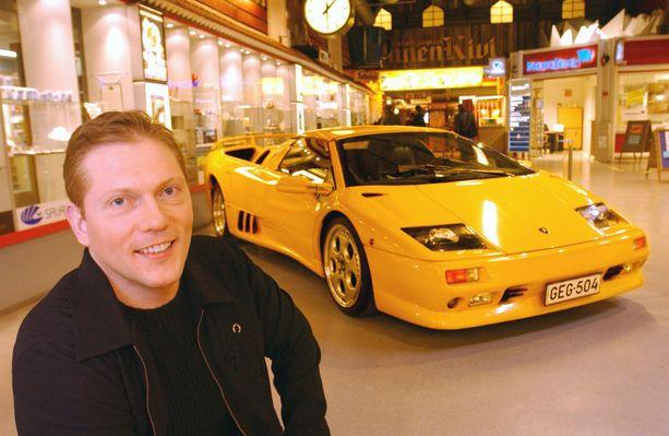 Rytsölän entinen Diablo oli Vesa Keskisen ensimmäinen Lamborghini, jonka hän hankki vuonna 2003.