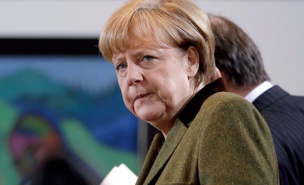 Saksan liittokansleri Angela Merkel ei lähtenyt toiveikkaana Ukraina-neuvotteluihin.