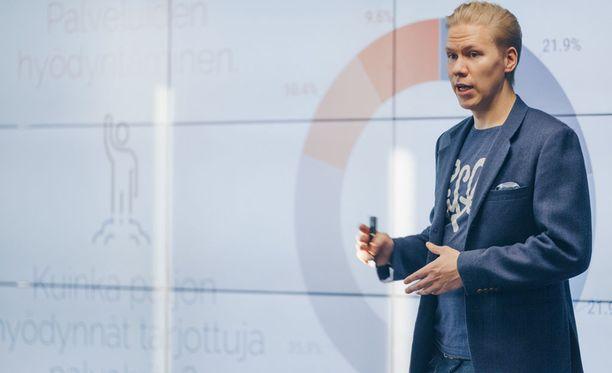 Taneli Rantalan mukaan henkilöstän työhyvinvointiin panostaminen vaikuttaa työntekijöiden sitoutumiseen.
