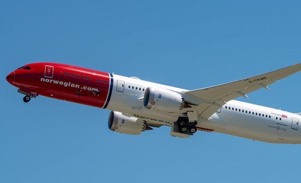 Tutkinnassa on avainasemassa Norwegianin ohjaamon tapahtumat. Kuvituskuva.