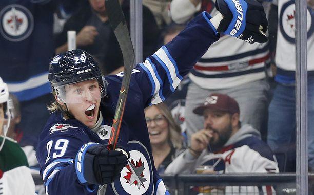 Winnipeg Jets ei saa nauttia Patrik Laineen maalitehtailusta enää kuin maksimissaan kolme kautta.