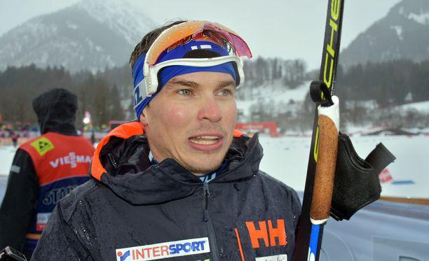 Ari Luusua ei ole vielä Tour de Skillä päässyt 30 parhaan joukkoon.