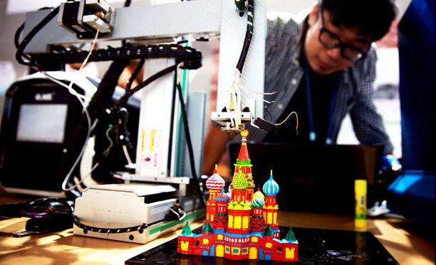 Toistaiseksi 3D-tuotantoa on siirretty kehittyviin maihin ja halpatyön pariin. Jatkossa se voi kuitenkin professori Jouni Partasen mukaan palata takaisin juurilleen.