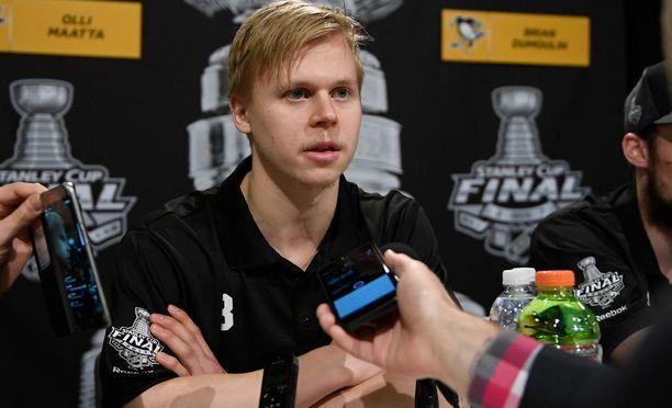Olli Määtästä, 22, tuli toistamiseen Stanley cup -mestari.