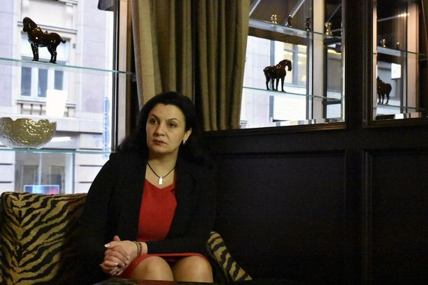 Ukrainan varapääministeri Ivanna Klympush-Tsintsadze vieraili Suomessa.