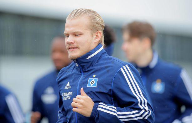 Joel Pohjanpalo aloitti HSV:ssä räväkästi.