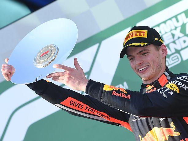 Max Verstappenin Australian GP:ssä saavuttama kolmossija oli Hondalle ensimmäinen sitten vuoden 2008.