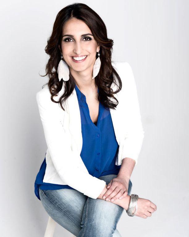 Nasima Razmyar kertoo olevansa hyvin onnellinen.
