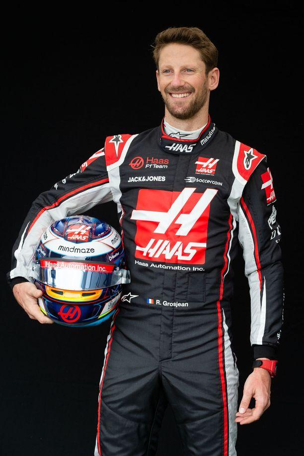 Romain Grosjean on ollut kiinteä osa Haas-kalustoa koko tallin historian ajan.