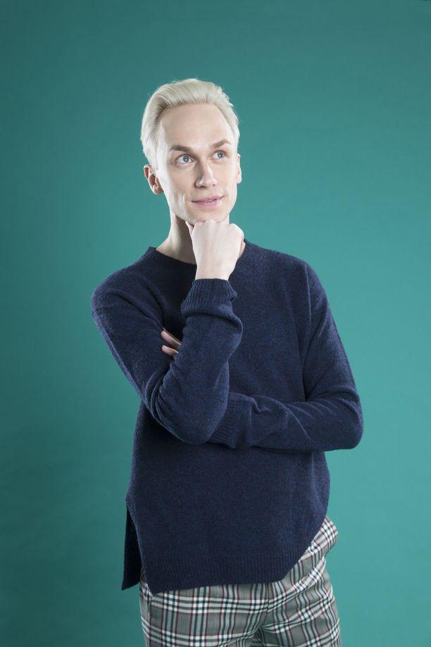 Christoffer Strandberg on elänyt viisuhuumassa lapsesta saakka.