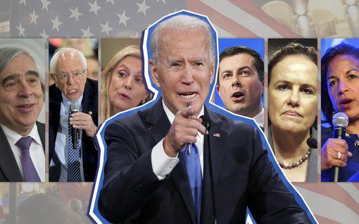 Heitä veikataan Bidenin hallinnon ministereiksi – mukana entisiä kilpakumppaneita, paljon naisia ja yksi republikaani