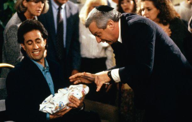 Charles Levin (oik.) näytteli Seinfeldissä. Kuvassa vasemmalla Jerry Seinfeld.