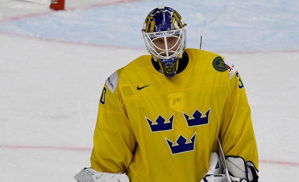 Tre Kronorin maalivahti Viktor Fasth joutui antautumaan kaksi kertaa avauserässä.