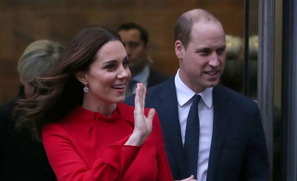 Herttuatar Catherine ja prinssi William vierailevat Ruotsissa.