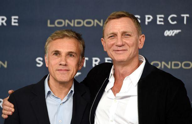 Waltz nähdään uusimmassa Bondissa Daniel Craigin näyttelemän salaisen agentin päävastustajana.