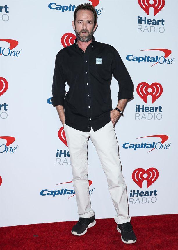 Luke Perry ikuistettuna vuonna 2018.
