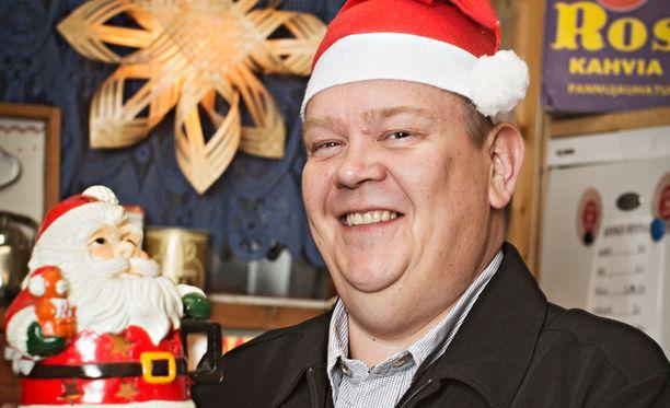 Aki Palsanmäki on ollut karkkilakossa jo 20 viikkoa. Edes jouluna mies ei sortunut suklaaseen.