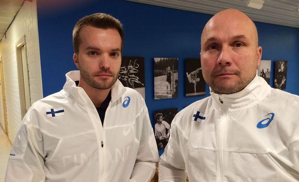 Keihään lajivalmennuksen saavat vastuulleen Olavi Parjanen ja Petteri Piironen.