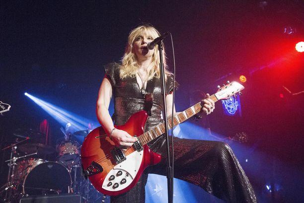 Courtney Love lienee yksi tunnetuimmista naismuusikoista.