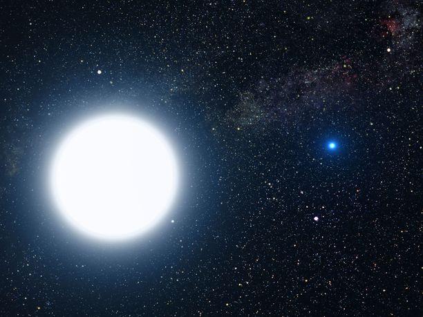 Uusi ennätyksen haltija LAMOST J0240+1952 sijaitsee 2 000 valovuoden päässä. Kuvituskuva.
