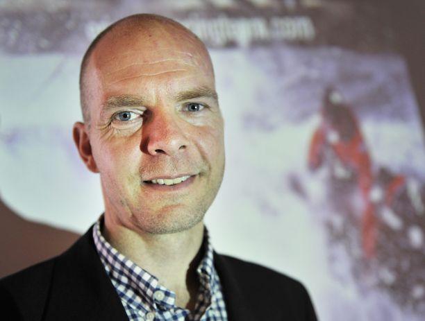 Thomas Johanson työskentelee nykyään myyntijohtajana it-alalla. Kuva on vuodelta 2010.