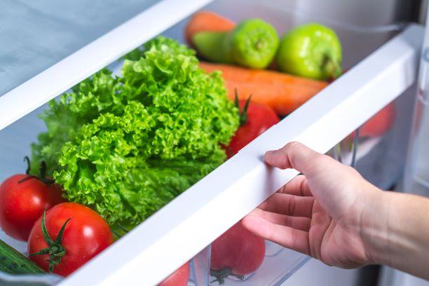 Useimmissa jääkaapeissa on erikseen vihanneslaatikko, mutta mitä vihanneksia siellä oikeastaan voi säilyttää?