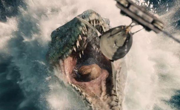 Mosasaurukset elivät noin 70 miljoonaa vuotta sitten.