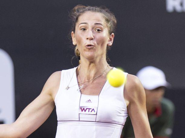 Alexandra Cadantu (kuvassa) ihastelee Serena Williamsin fysiikkaa.