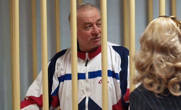 Sergei Skripal Moskovassa oikeudessa vuonna 2006.