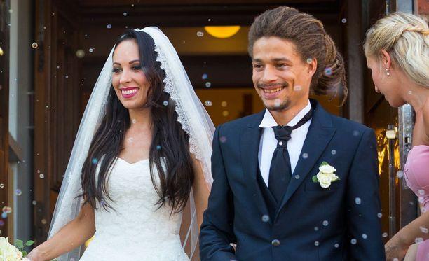 Janna ja Juno avioituivat viime sunnuntaina.