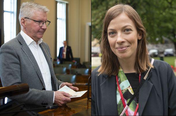 Pirkka-Pekka Petelius toivoo lisää miehiä opetusalalle roolimalleiksi. Opetusministeri Li Andersson toteaa, etteivät miesopettajat yksin ratkaise poikien jälkeen jäämisen ongelmaa.