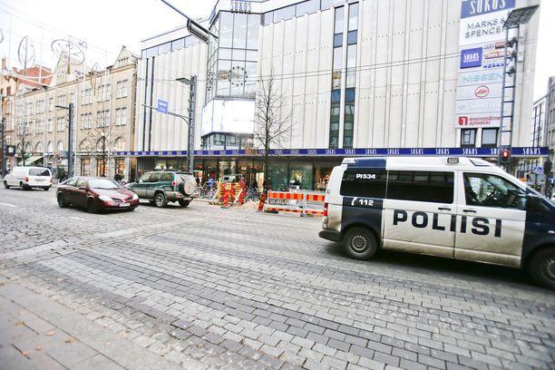 Raisa Räisänen nähtiin viimeisen kerran Hämeenkadulla Tampereen keskustassa.