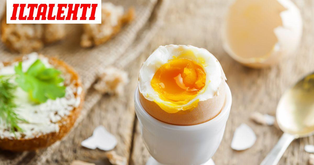 Kananmunan Keittoaika