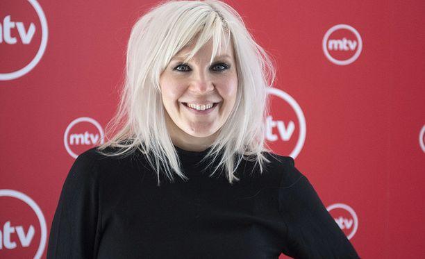 Vappu Pimiä on suosittu suomalainen juontaja ja toimittaja.