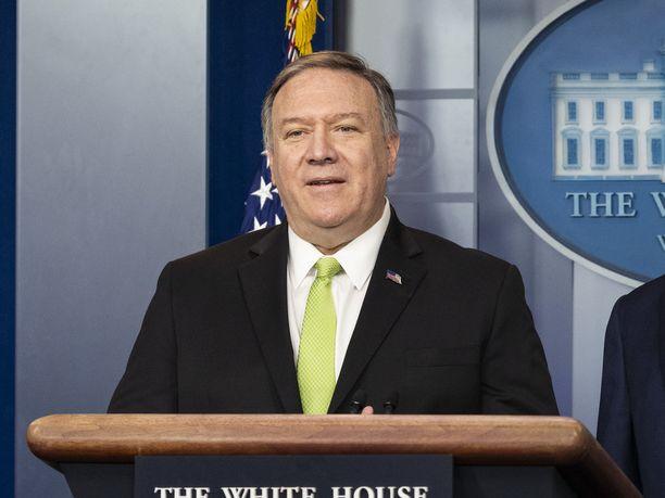 Yhdysvaltain ulkoministeri Mike Pompeo on tyrmistynyt lentotukikohtaan Irakissa tehdystä raketti-iskusta, jossa loukkaantui neljä ihmistä.