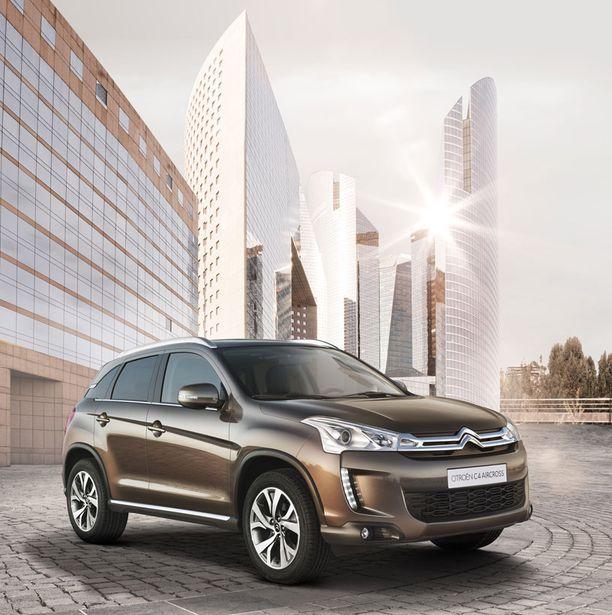 Citroënin tulevassa uutuudessa on vahva jopa konseptiautomainen keulan ilme.