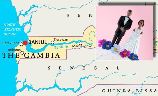 Gambialaisten puolisoiden määrä pysytteli kutakuinkin tasaisena vuodet 2002-2007, jonka jälkeen se lähti rajuun kasvuun. Kuvituskuva.