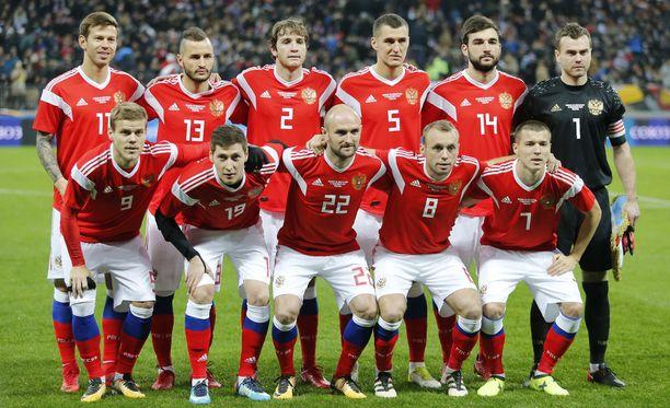 Venäjä avaa MM-turnauksen torstaina Saudi-Arabiaa vastaan.