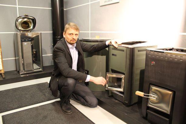 Tuotekehitys- ja laatujohtaja Timo Harvia on kolmannen polven harvialainen.