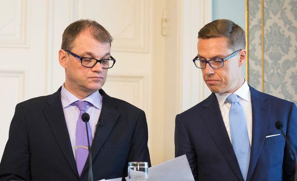 Sipilä ja Stubb ovat saaneet kuulla kunniansa koulutusleikkauksista.