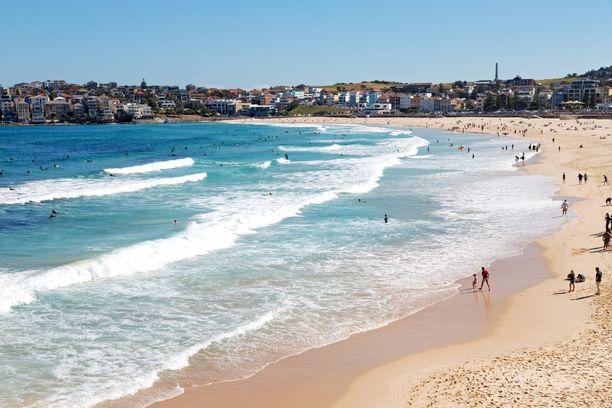 Sydneyn Manly tunnetaan erityisesti rannoistaan.